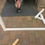 Balustrade op uitbouw