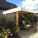 Overkapping in tuin