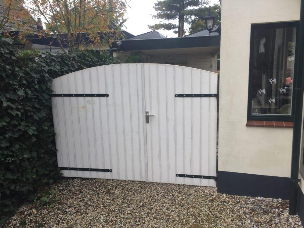 Poortdeuren tbv oprit
