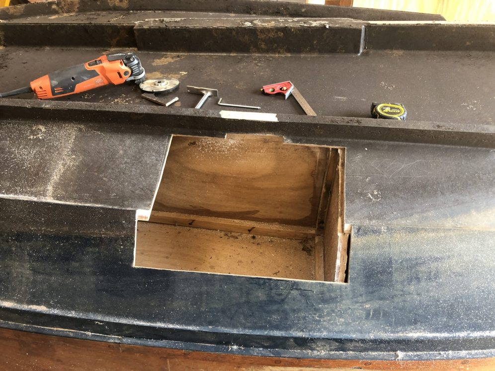 Repareren romp Laaksloep